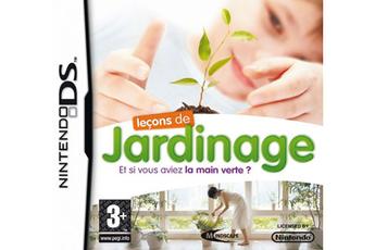 Jeux DS / DSI LECONS DE JARDINAGE Mindscape