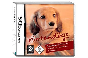 Jeux DS / DSI NINTENDOGS TECKEL AND FRIENDS Nintendo