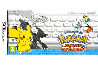 Jeux DS / DSI Pokémon à la conquête du clavier Nintendo