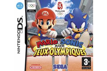 Jeux DS / DSI MARIO & SONIC JO Sega