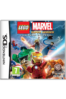 Jeux DS / DSI LEGO MARVEL : SUPER HEROES - L'UNIVERS EN PERIL Warner Bros Interact