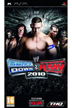 Jeux PSP WWE VS RAW 2010 Thq