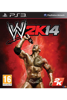 Jeux PS3 WWE 2K14 2k Sports