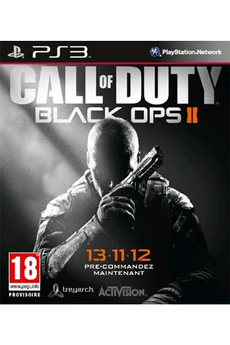 Jeux PS3 Activision CALL OF DUTY : BLACK OPS II