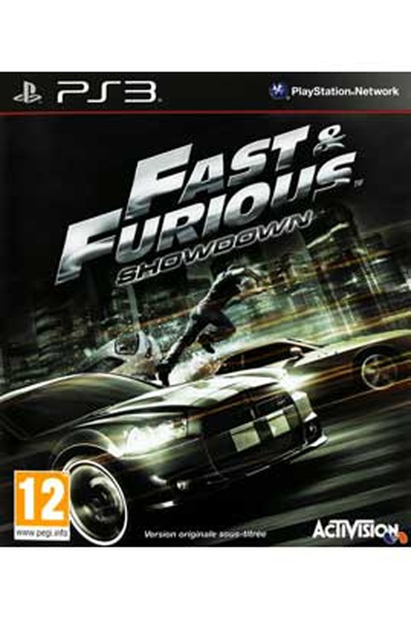 jeux ps3 activision fast and furious showdown 1382195 darty. Black Bedroom Furniture Sets. Home Design Ideas