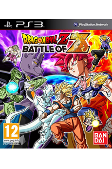 Jeux PS3 Dragon Ball Z : Battle of Z Bandai