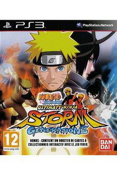Jeu Plasytation 3 - Naruto Shippuden : ultimate Ninja storm generations