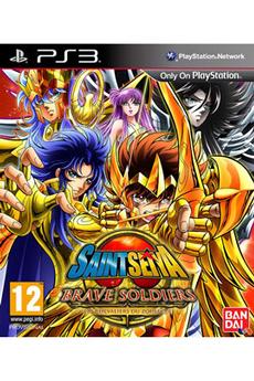 Jeux PS3 SAINT SEIYA : BRAVE SOLDIERS Bandai