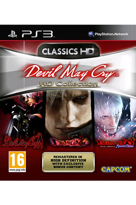 Jeux PS3 Capcom DEVIL MAY CRY:HD COLLECTION CLASSICS HD