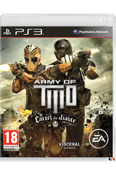 Jeux PS3 ARMY OF TWO 3 : LE CARTEL DU DIABLE Electronic Arts