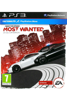 Jeux PS3 NEED FOR SPEED MOST WANTED Electronic Arts