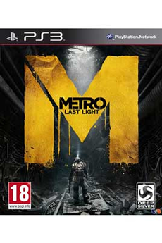 Jeux PS3 METRO LAST LIGHT EDITION LIMITEE Kochmedia