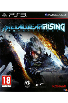 KONAMI Jeux PS3 METAL GEAR RISING REVENGEANCE PS3 4012927054819