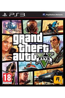Jeux PS3 GTA V Rockstar