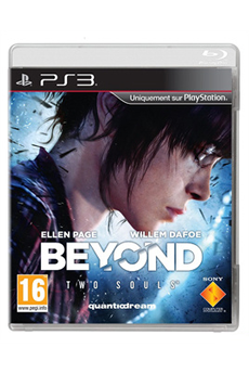 Jeux PS3 BEYOND : TWO SOULS Sony