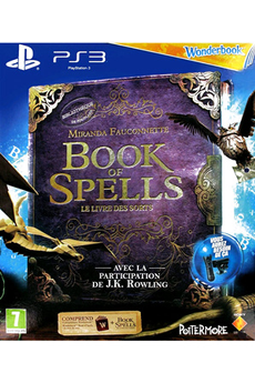 Jeu Playstation 3 - Book of spells + Grimoire