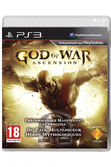 Jeux PS3 GOD OF WAR 4 ASCENSION Sony