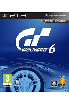Jeux PS3 GRAN TURISMO 6 Sony