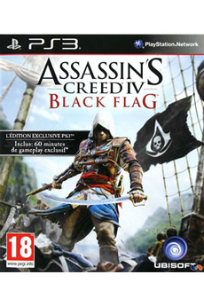 Jeux PS3 ASSASSIN'S CREED IV : BLACK FLAG Ubisoft