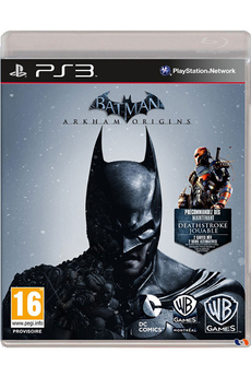 Jeux PS3 BATMAN : ARKHAM ORIGINS Warner