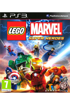 Jeux PS3 LEGO MARVEL SUPER P3 Warner