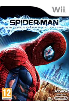Jeux Wii SPIDERMAN : AUX FRONTIERES DU TEMPS Activision