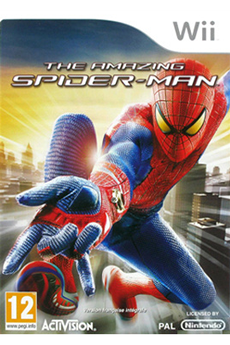 Jeux Wii THE AMAZING SPIDERMAN Activision