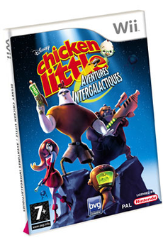 Jeux Wii CHICKEN LITTLE Buena Vista Games