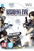 Jeux Wii RESIDENT EVIL DARK Capcom