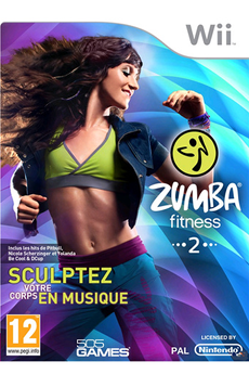 Jeux Wii ZUMBA FITNESS 2 Digital Bros