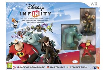 Jeux Wii DISNEY INFINITY - PACK DE DEMARRAGE Disney