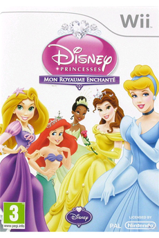 Jeux Wii DISNEY PRINCESS : MON ROYAUME ENCHANTE Disney