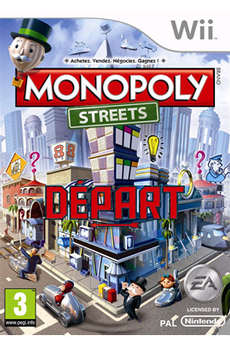 Jeux Wii MONOPOLY STREETS Electronic Arts