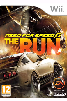 Jeux Wii NEED FOR SPEED : THE RUN Electronic Arts