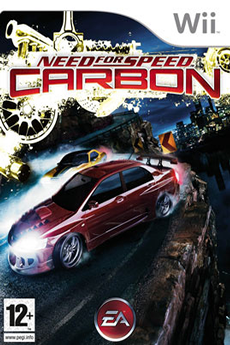 Jeux Wii NEED FOR SPEED CARBON Electronic Arts