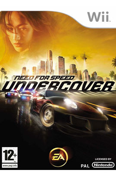Jeux Wii NFS UNDERCOVER Electronic Arts