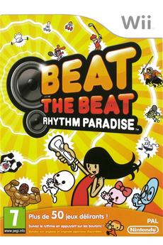 Jeux Wii BEAT THE BEAT:RYTHM PARADISE Nintendo
