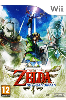 Jeux Wii LEGEND OF ZELDA : SKYWARD SWORD Nintendo