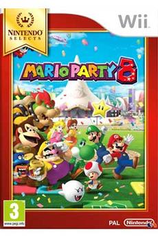 Jeux Wii Nintendo MARIO PARTY 8