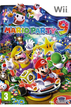 Jeux Wii Mario Party 9 Nintendo