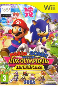 Jeux Wii MARIO & SONIC AUX J.O DE LONDRES Sega