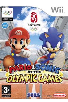 Jeux Wii MARIO & SONIC AUX J.O Sega
