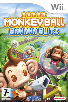 Jeux Wii SUPER MONKEYBALL Sega