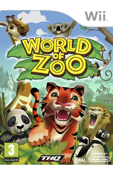 Jeux Wii WORLD OF ZOO Thq