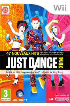 Jeux Wii JUST DANCE 2014 Ubisoft