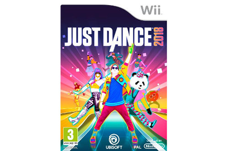 jeux wii ubisoft just dance 2018 wii 300093513 just dance 2018 wii darty. Black Bedroom Furniture Sets. Home Design Ideas