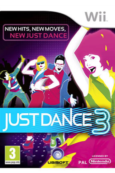 Jeux Wii JUST DANCE 3 Ubisoft