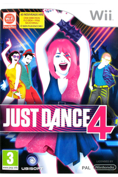 Jeux Wii JUST DANCE 4 Ubisoft