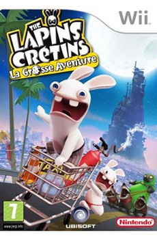 Jeux Wii LAPINS CRETINS AVENTURE Ubisoft