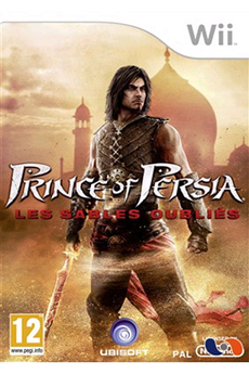 Jeux Wii PRINCE OF PERSIA SANDS Ubisoft